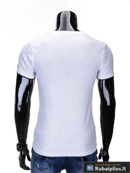"""Vyriški marškinėliai + Baltos spalvos vyriški marškinėliai """"Vip"""" -Rubaiplius.lt"""