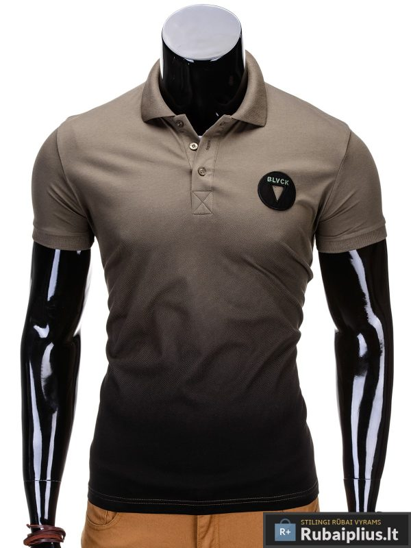 """Vyriški marškinėliai + Chaki polo marškinėliai vyrams """"Yan"""" - Rubaiplius.lt"""