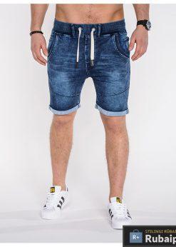 Džinsiniai mėlynos spalvos vyriški šortai vyrams internetu pigiau Lost P510