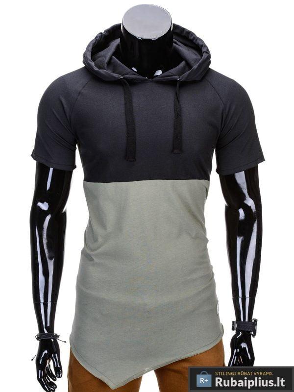 """Vyriški marškinėliai + Juodi-chaki marškinėliai vyrams """"Baz"""" - Rubaiplius.lt"""