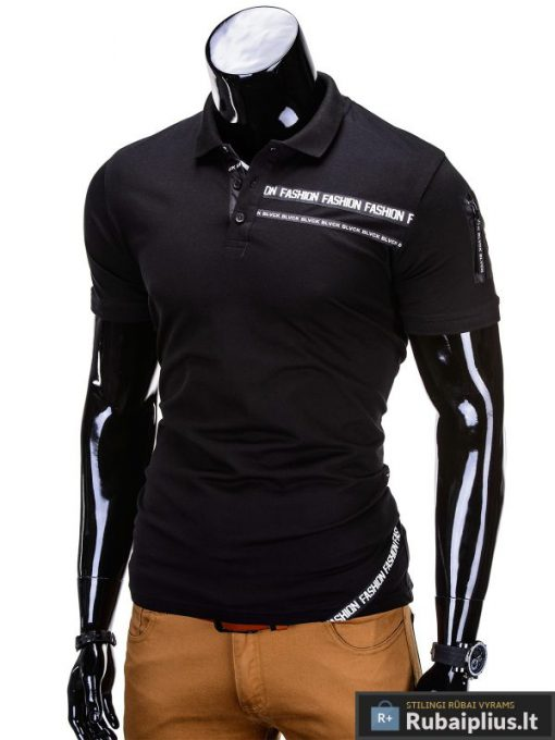 """Vyriški marškinėliai + Juodi polo marškinėliai vyrams """"Fash"""" - Rubaiplius.lt"""