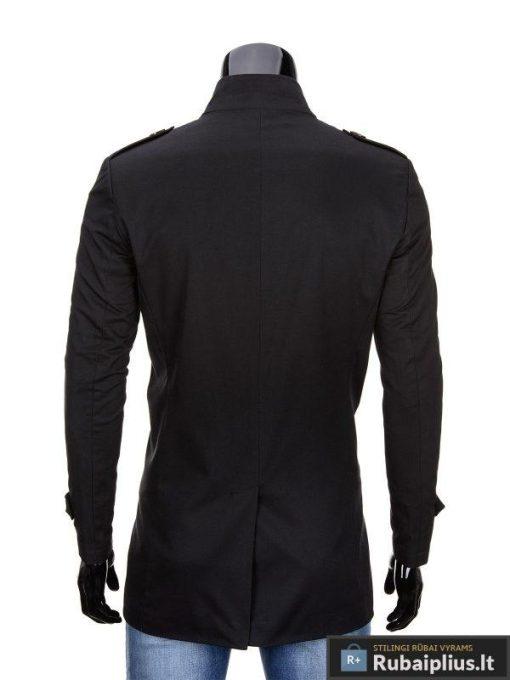 """Juodos spalvos vyriškas puspaltis-striuke vyrams """"ELTON"""" - Rubaiplius.lt"""