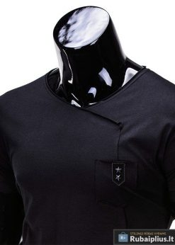 """Vyriški marškinėliai + Juodi marškinėliai vyrams """"Nik"""" - Rubaiplius.lt"""
