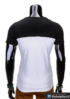 madingi vyriški marškinėliai juodos spalvos, denim kolekcijos vyriški marškinėliai, trumpomis rankovėmis marškinėliai vyrams, klasikiniai vyriški marškinėliai, stilingi marškinėliai vyrams internetu, originalūs vyriški marškinėliai, marškinėliai vyrams spalvos, vyriški marškinėliai su užrašu ir aplikacija, stilingi marškinėliai uz gera kaina, protinga kaina, akcija, nuolaidos rūbams