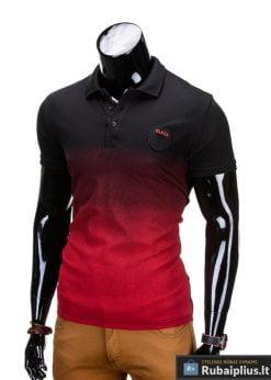 """Vyriški marškinėliai + Juodi polo marškinėliai vyrams """"Yan"""" - Rubaiplius.lt"""