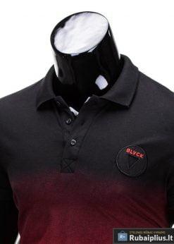 Vyriški marškinėliai + Juodi polo marškinėliai vyrams