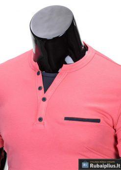 """Koralo spalvos vyriški marškinėliai vyrams """"Gizmo"""" - Rubaiplius.lt"""