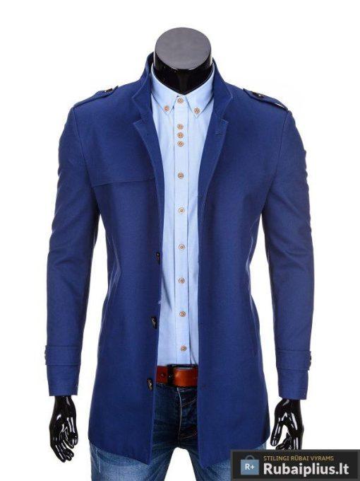 """Stilingas mėlynas vyriškas puspaltis-striuke vyrams """"ELTON"""" - Rubaiplius.lt"""