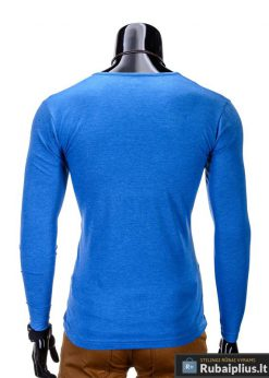 Marškinėliai vyrams. Mėlyni vyriški marškinėliai