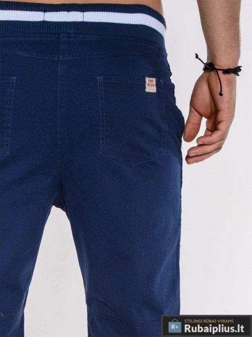 """Vyriški šortai + Mėlynos spalvos vyriški bridžai """"Som"""" - Rubaiplius.lt"""