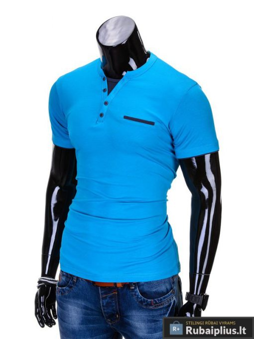 """Marškinėliai vyrams + Mėlyni vyriški marškinėliai """"Gizmo"""" - Rubaiplius.lt"""