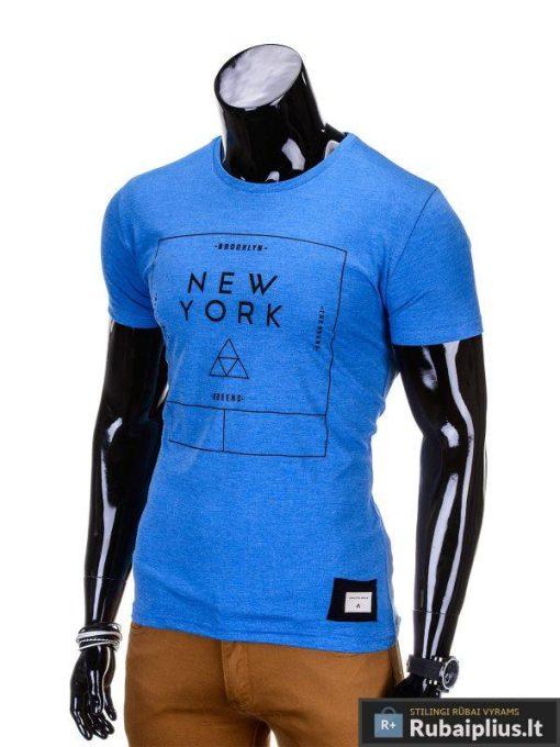 """Vyriški marškinėliai + Mėlyni marškinėliai vyrams """"Oracul"""" - Rubaiplius.lt"""