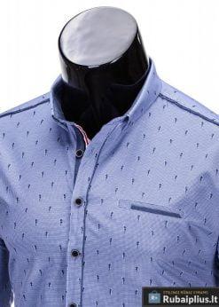 Vyriški marškiniai + Mėlyni marškiniai vyrams