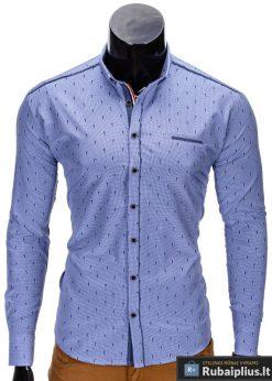 """Vyriški marškiniai + Mėlyni marškiniai vyrams """"Ocean"""" - Rubaiplius.lt"""
