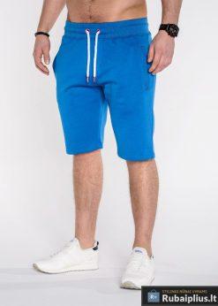 """Šortai vyrams + Mėlynos spalvos vyriški šortai """"Kiko"""" - Rubaiplius.lt"""