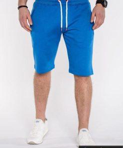 Mėlynos spalvos vyriški šortai vyrams internetu pigiau Kiko P512