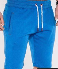 Šortai vyrams + Mėlynos spalvos vyriški šortai