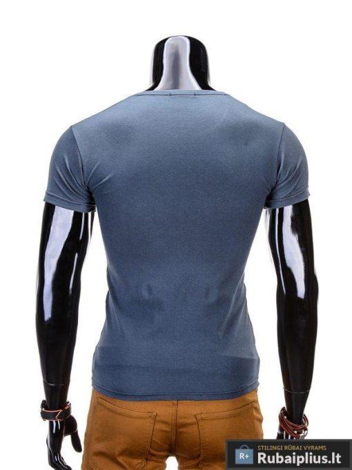 """Marškinėliai vyrams. Pilki vyriški marškinėliai """"Andes"""" - Rubaiplius.lt"""