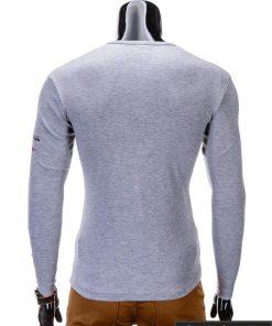 Marškinėliai vyrams. Pilki vyriški marškinėliai