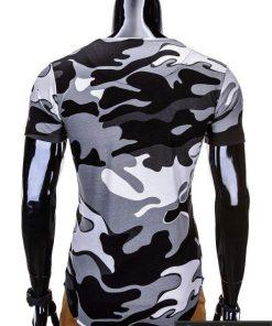 """Madingi kamufliažiniai vyriški marškinėliai vyrams """"Soldier"""" - Rubaiplius.lt"""