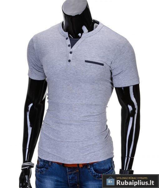 """Marškinėliai vyrams + Pilki vyriški marškinėliai """"Gizmo"""" - Rubaiplius.lt"""