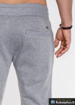 Šortai vyrams + Pilkos spalvos vyriški šortai