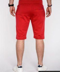 Šortai vyrams + Raudonos spalvos vyriški šortai