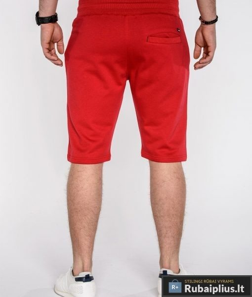 """Šortai vyrams + Raudonos spalvos vyriški šortai """"Kiko"""" - Rubaiplius.lt"""