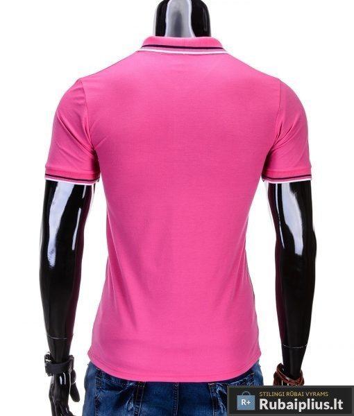 """Vyriški marškinėliai. Ružavi polo marškinėliai vyrams """"Glory"""" - Rubaiplius.lt"""