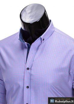 Stilingi ružavos spalvos vyriški marškiniai vyrams