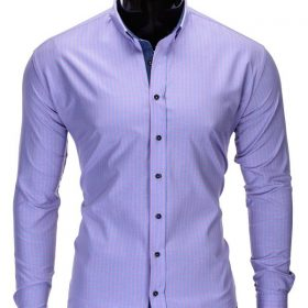 """Stilingi ružavos spalvos vyriški marškiniai vyrams """"Morton"""" - Rubaiplius.lt"""