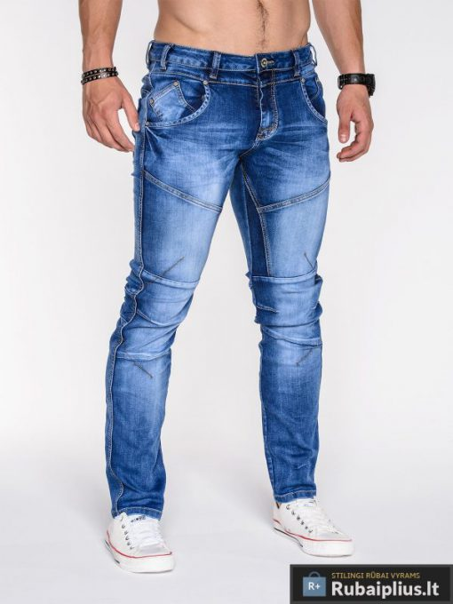stilingi šviesiai mėlyni jogger modelio džinsai vyrams jaunuoliams berniukams paaugliams internetu pigiau, nauja akcija lietuvoje aukštos kokybės vyriškos džinsinės kelnės laisvalaikiui jaunimui nebrangiai, originalios kelnės slim džinsai vyrams protigna kaina, nuolaidos akcija