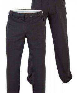 Klasikinio-stiliaus-vyriškos-juodos spalvos-kelnės-Beck-KS1403