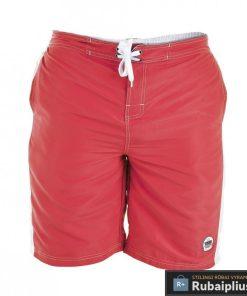 Šviesiai raudonos spalvos vyriški paplūdimio šortai vyrams internetu pigiau Clyde 208118SR