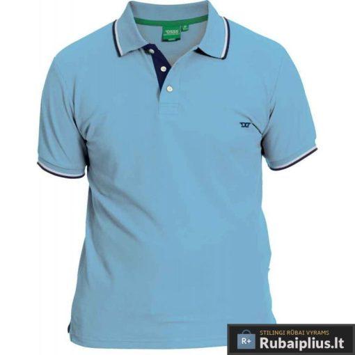 Žydros spalvos vyriški polo marškinėliai vyrams internetu pigiau Racer 166476ZYD
