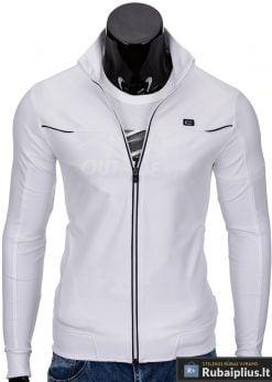 Baltos spalvos vyriškas džemperis internetu pigiau Makvin B653