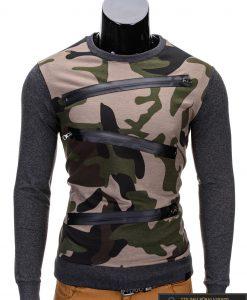 chaki džemperis, kamufliažinis, chaki spalvos kamufliažinis vyriškas džemperis internetu, kamufliažinis vyriškas džemperis, džemperis vyrams, patogus vyriškas džemperis, džemperis užsegamas užtrauktuku su kišenėmis, džemperis mėgstantiems aktyvų gyvenimo būdą, džemperis laisvalaikiui, džemperis užsegamas užtrauktuku, originalūs vyriški džemperiai, vyriškas bliuzonas internetu, bliuzonas su gobtuvu, bliuzonas su kapišonu stilingas, bliuzonas vyrams, vyriškas megztinis internetu, kokybiškas džemperis, madingi vyriški džemperiai, džemperis sportui, džemperis krepšiniui, džemperis futbolui, vyriški džemperiai už protigna kaina, akcija, nuolaidos