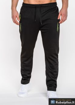 juodos sportinės kelnės, vyriškos kelnės sportui, laisvalaikio kelnės vyrams, sportinės vyriškos kelnės, laisvalaikio kelnės su kišenėmis, treningai, sportinė apranga