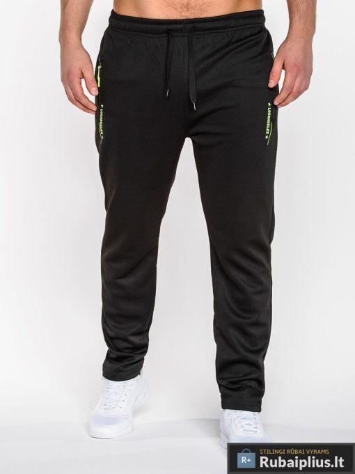 Rubaiplius-juodos-spalvos-vyriskos-sportines-kelnes-vyrams-losangeles