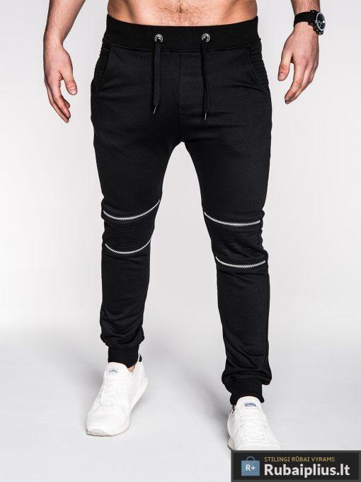 Rubaiplius-juodos-spalvos-vyriskos-sportines-kelnes-vyrams-mezo-2