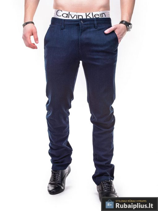 Rubaiplius-melynos-spalvos-klasikinio-stiliaus-vyriskos-kelnes-vyrams-indens