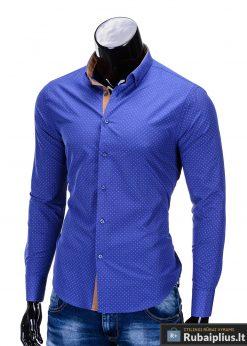 vyriški ryškiai mėlynos spalvos marškiniai internetu, stilingi stiliaus ryškiai mėlyni marškiniai vyrams, madingi marškiniai vyrams ilgomis rankovemis, originalūs vyriški marškiniai internetu, klasikiniai marškiniai vyrams, stilingi marškiniai vyrams, aukšta kokybė, greitas pristatymas, apmokėjimas gavus prekes, vyriškų striukių išpardavimas