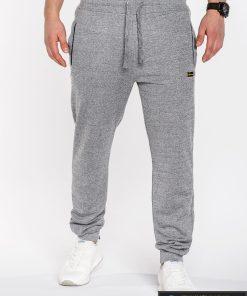 Pilkos spalvos sportinės vyriškos kelnės vyrams internetu pigiau Tonto P524