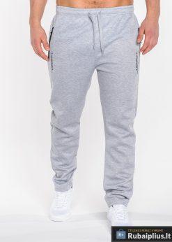 Pilkos sportinės vyriškos kelnės vyrams internetu pigiau Losangeles P523