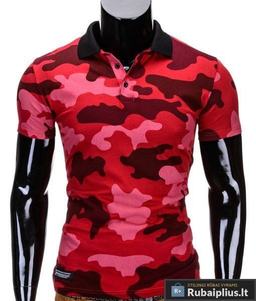 Rubaiplius-raudonos-spalvos-vyriski-kamufliaziniai-polo-marskineliai-vyrams-armino
