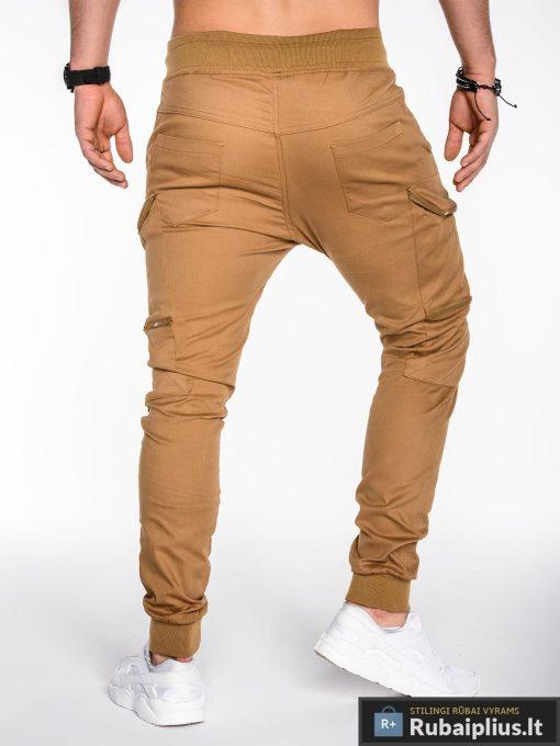rudos laisvalaikio vyriškos kelnės, jogger tipo, medvilne 100%, klasikinio stiliaus, džinsai, džinsinės kelnės, vyriškos kelnės, kelnės vyrams, sportinės kelnės, laisvalaikio kelnės