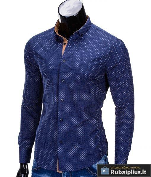 vyriški tamsiai mėlynos spalvos marškiniai internetu, stilingi stiliaus tamsiai mėlyni marškiniai vyrams, madingi marškiniai vyrams ilgomis rankovemis, originalūs vyriški marškiniai internetu, klasikiniai marškiniai vyrams, stilingi marškiniai vyrams, aukšta kokybė, greitas pristatymas, apmokėjimas gavus prekes, vyriškų striukių išpardavimas