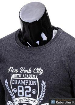 tamsiai pilkas džemperis, tamsiai pilkos spalvos vyriškas džemperis internetu, džemperis vyrams, patogus vyriškas džemperis, džemperis užsegamas užtrauktuku su kišenėmis, džemperis mėgstantiems aktyvų gyvenimo būdą, džemperis laisvalaikiui, originalūs vyriški džemperiai, vyriškas bliuzonas internetu, bliuzonas stilingas, bliuzonas vyrams, vyriškas megztinis internetu, kokybiškas džemperis, madingi vyriški džemperiai, džemperis sportui, džemperis krepšiniui, džemperis futbolui, vyriški džemperiai už protigna kaina, akcija, nuolaidos
