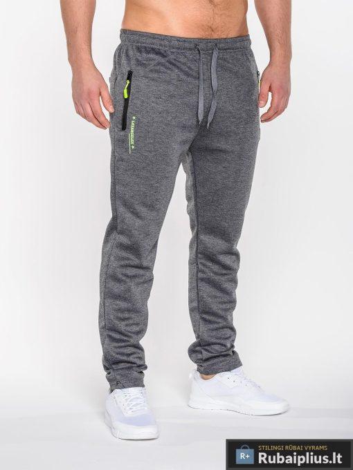 tamsiai pilkos sportinės kelnės, vyriškos kelnės sportui, laisvalaikio kelnės vyrams, sportinės vyriškos kelnės, laisvalaikio kelnės su kišenėmis, treningai, sportinė apranga