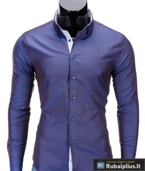 Rubaiplius-violetines-spalvos-vyriski-marskiniai-vyrams-laroco